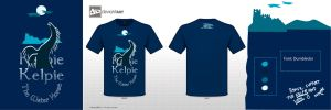 KELPIE: The Water Horse, T-shirt by Ryoishen