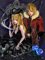 Death note  mello misa by RikaMello