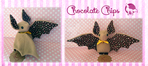 Chocolate Chips Bat by Ishtar-Creations