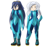 PC - Zero suit Duo by MegaGundamMan