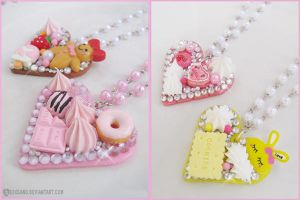 Decoden necklaces by decoland