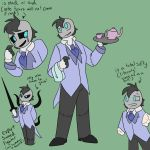 Korry the living doll butler by oogiesgirl207
