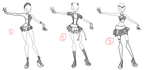 Adoptable: Transform Set 2 CLOSED by Amber0Adoptables