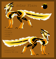 Solar Flare Reference by Tarragon-8