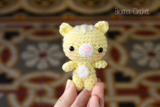 Kitten amigurumi doll :) by BramaCrochet