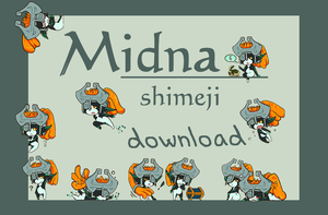Midna Shimeji download by cocohints