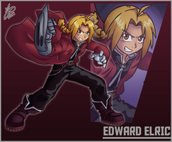 Bro Month 08 - Edward Elric by Ian-the-Hedgehog