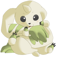 Terriermon by Kyuujutsuka