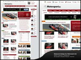 motorsport.de relaunch by blind91