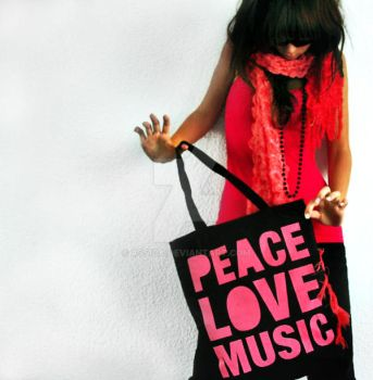 Peace. Love. Music. by assica
