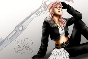 Lightning In Squall Outfit by SerenaKaori87
