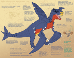 Garchomp concept by Weirda208