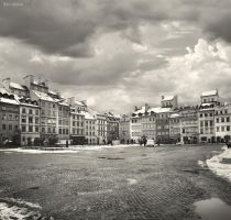 Warsaw - Old Town by BenHeine
