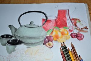 WIP 2. Still life by Rustamova