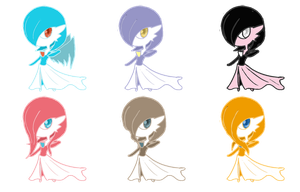Gardevoir Adoptables .::CLOSED::. by StarryAdopts