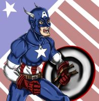 Captain America by Falroth