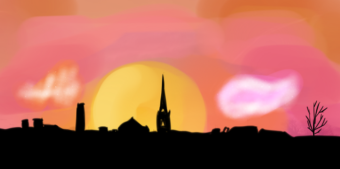 Sunset - Kells Ireland by Cians-Sacred-Lair