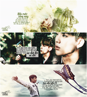 [Quotes Cover] HwayangyeonhwaPt2 Suga Jin Jungkook by linhchinie