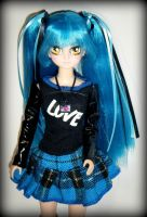 Yuki - a Manga Punk custom by kalavista
