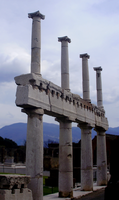 old stones piled high by Blue-Berry-Boy