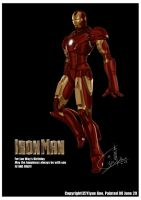 Iron man by Eyue