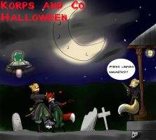Korps and co Halloween by Killman-sama