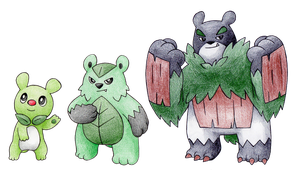 Bear Grass Starters by FakeMakeT