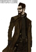 Adam Jensen by ChocolateBiscuits