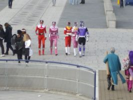 Power Rangers October 2008 by lunamaxwell