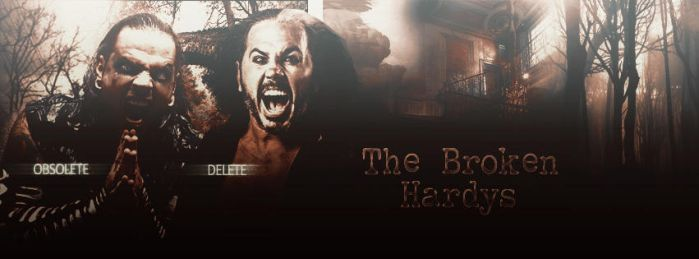 The Broken Hardys Signature by KingQuake