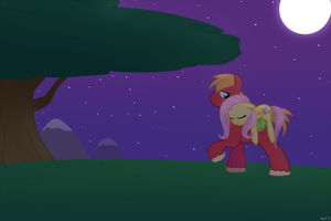 MLP - 'Gentle Night' by Krekka01