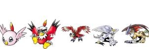 Digimon RX 02 - Hawkmon by BigBDawg001