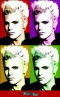 Billy Idol Pop Art by bAdMaRk