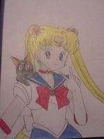 Sailor Moon Sketch by ReynAnimations