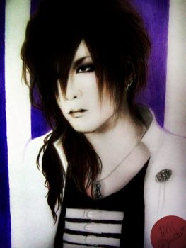 Dripping Insanity / Uruha the GazettE Art by pollidenister