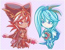 Little Sorceresses by PizzaPastaPrincess