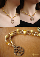 Wiccan necklace by Comacold