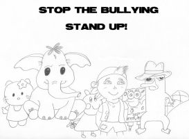 Stop the Bullying by Darkened-94-Child