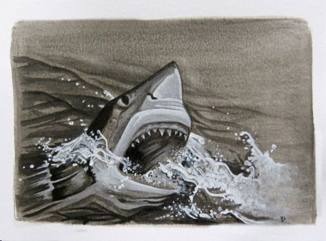 Great White by StoneTheCrow87