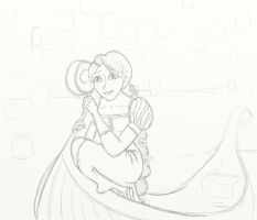 Rapunzel sees the Lights by BookLover1123