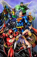 DC Justice League by WiL-Woods
