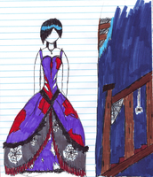 Haunted Dress by Emo-Writer-7251