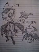 Happy Halloween - Zim by BlueBird236