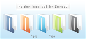 Folder Icon Pack by CorouD