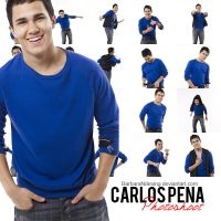 Pack 1: Photoshoot Carlos Pena HQ by BarbaraNDesing