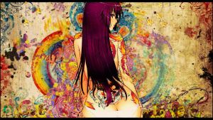 Graffiti Tatoo Girl by Beckem88