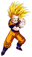 Gohan Super Saiyan 2 (teen) by OriginalSuperSaiyan