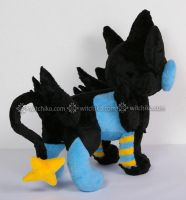 Luxray:::::another size:::: by Witchiko