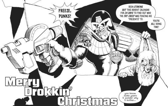 2000AD Advent: Judge Dredd by JimCampbell