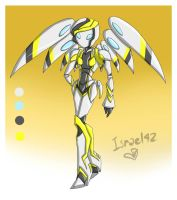 Medabots OC: Angel eyes by Israel42